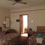 Room 112 Jacuzzi suite with 2 Queen beds