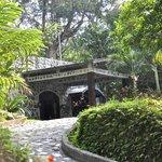 Casa Cangrejal B&B Semi-Circle Stone Driveway