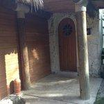 Door to our Villa