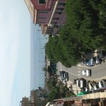 Panorama dal terrazzo dell'hotel