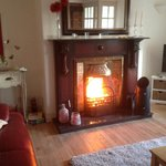 Roaring Turf fire with Homely smell you will always remember