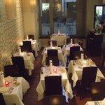 BevisMarks The Restaurant - Main floor- Valentine's day decoration
