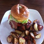 BLT with Roasted Potatoes