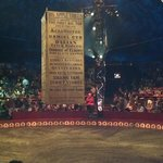 inside the Big Apple Circus tent