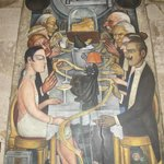 One of the many Diego Rivera murals