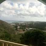 View of Christiansted Harbor from Carringtons