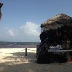 blockd ocean view by beach vendors