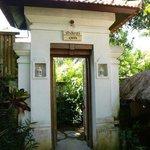 Entrance to Om Shanti