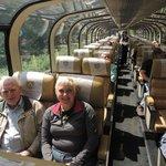 Grandpa & I on the Gold Leaf Train
