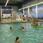 Indoor water park - partial view