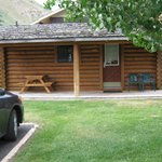 Front of cabin #119