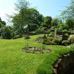 Dilston Mill - tranquil garden