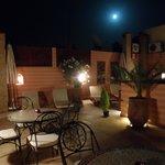 La azotea a la luz de la luna