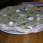 Bianca Quattro Formaggi: Mozzarella, queso cremoso, azul y cabra