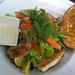 fishgame salad