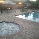 Confort della piscina....