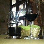 Caraffetta di vino Sagrantino