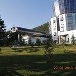 Car car upper station & Belvedere hotel, Tirana, Albania