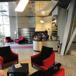 Lobby, Belvedere hotel, Tirana, Albania