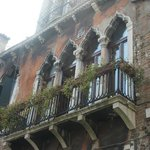 il balcone della camera 109 visto da fuori