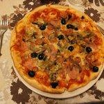 Pizza Mista  lekkerrrrrr