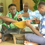 Kava ceremony on a day tour