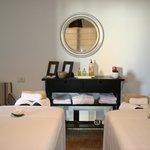 One of the rooms reserved for Couples Massage