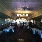 dinning area onboard the Natchez