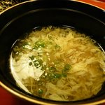 鱶鰭のスープ
