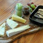 Our Devon cheese board