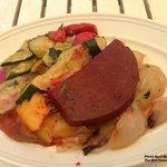 Delicious vegetable antipasti