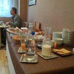 Le Buffet du Petit Déjeuner.