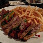 tuna club and fries are delicious!