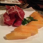 prosciutto & melon is tasty and refreshing