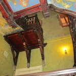 Underside of stairwell