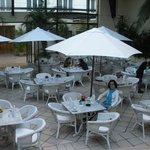 café da manhã no hotel Loi Suites Recoleta