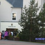 The Aviemore Inn entrance