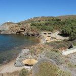 Vue sur la plage et l'environnement immédiat