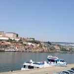 view of Douro River from our lunch seats - beautiful!!!