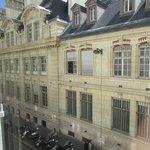 Vista do quarto/Universidade de Sorbonne