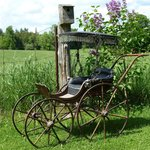 """1870""""s Victorian Baby Carriage"""