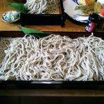 寒ざらし板そば(1600円)
