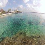 Swim area at Casa Del Mar