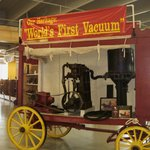 The first major vacuum