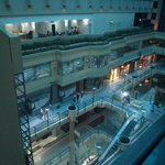 interior shopping mall ,,,, view from our room