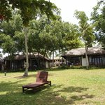 Arcadia Phu Quoc: view of bungalows from beach