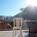 Blick von unserem herrlichen Balkon