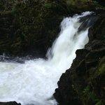 5 min walk a waterfall