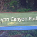 Entrada do Lynn Canyon Park