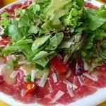 Salada Carpaccio de Atum